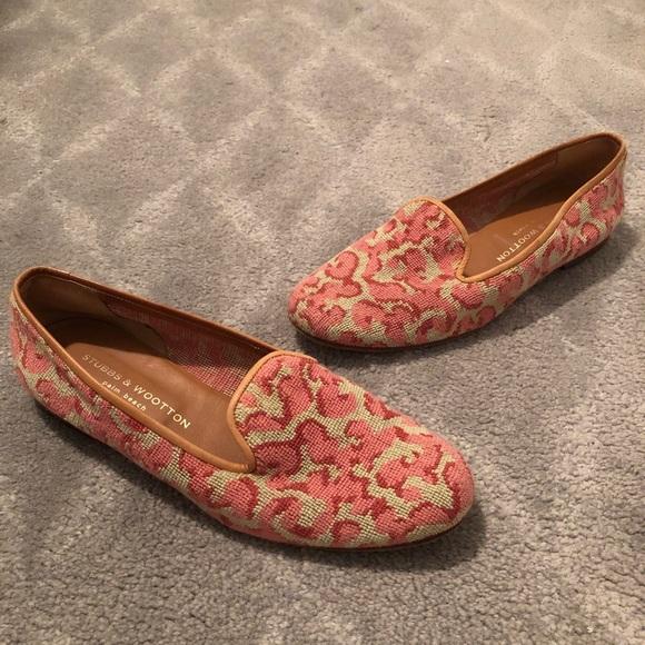 912de7534 Stubbs & Wootton Shoes | Stubbs Wootton Needlepoint Flats Slippers ...